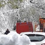 Áprilisi tél: továbbra sem megközelíthető több település