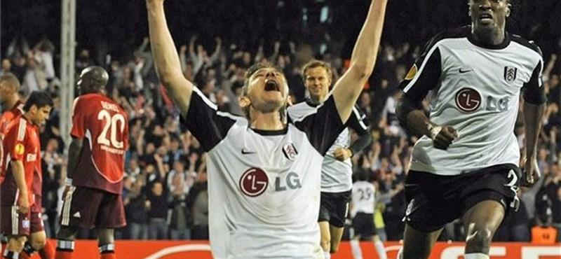 Gera Zoltán döntőbe lőtte a Fulhamet