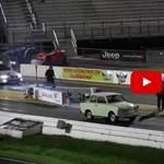Itt az év gyorsulási versenye: Trabant a Mustang ellen – videó