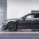 Videón a 740 lóerős családi kombi, az új Audi RS6-R