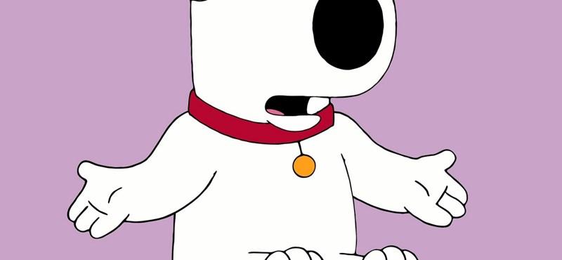 Átverés volt Brian halála - visszatér a Family Guy közkedvelt szereplője
