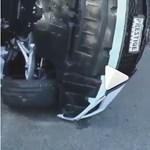 Roppant kínos: összetörte apja új luxusautóját a tini – videó