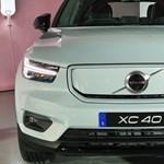 Magyarországon az első elektromos Volvo