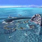 Készül a világ új csodája: szálloda a tenger mélyén (képekkel és videókkal)