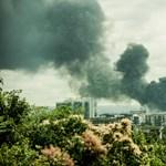Raktártűz: Szúrós szagra riadt néhány lakó Angyalföldön