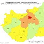 Ez történt: elkészült Magyarország valószerűbb koronavírus-térképe