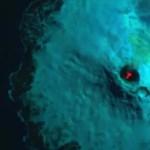 Lenézett a vulkán kráterébe az egyik műhold, és valami csodálatosat vett észre