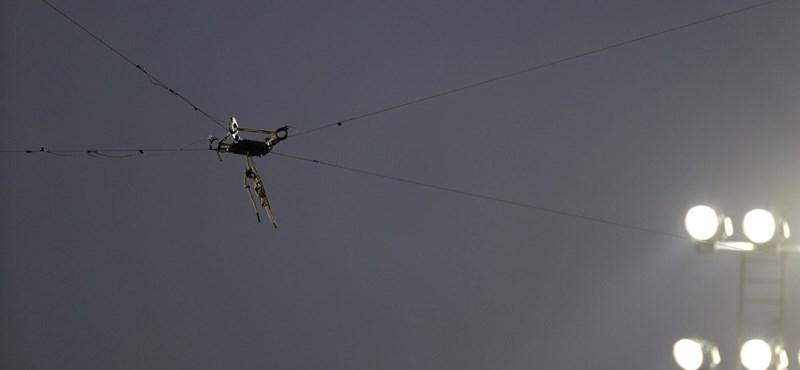 Lezuhanó kamera sebesített meg két embert Rióban