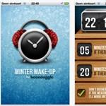 Ébresztő, amely korábban kelt, ha esik a hó [videóval]