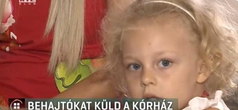 Behajtókat küld a kórház egy lázas kislány számlája miatt