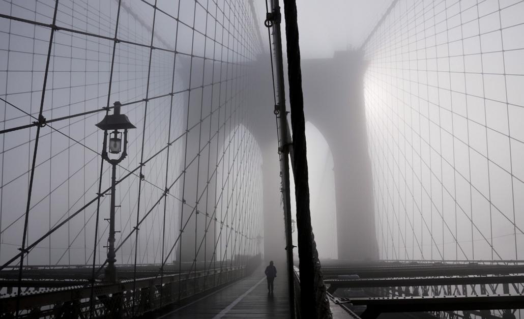 AP! Köd New Yorkban 2014.01.15.