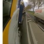 Őrült kamionos miatt kellett bocsánatot kérnie a munkaadójának