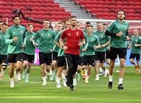 Szalai–Sallai-támadóduóval kezdünk, Pepe és Ronaldo a portugál kezdőben
