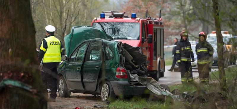 Heten haltak szörnyet egy részeg lengyel tinédzser autójában - fotók