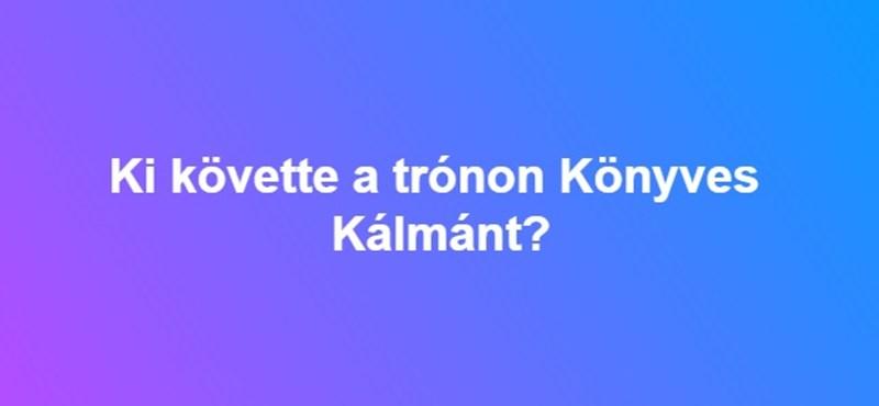 Ki követte a trónon Könyves Kálmánt?