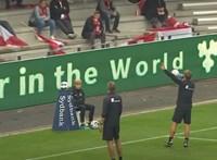 Leállították a dán kupadöntőt, mert túl közel ültek egymáshoz a drukkerek