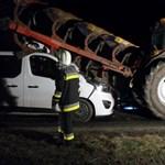 Kisebb csoda, hogy ezt a balesetet sérülés nélkül úszta meg a sofőr - fotók