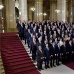 Lázár János lemaradt a Fidesz–KDNP-frakció csoportképéről