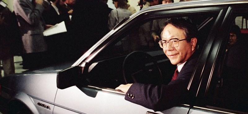 Meghalt Toyoda, aki naggyá tette a Toyotát
