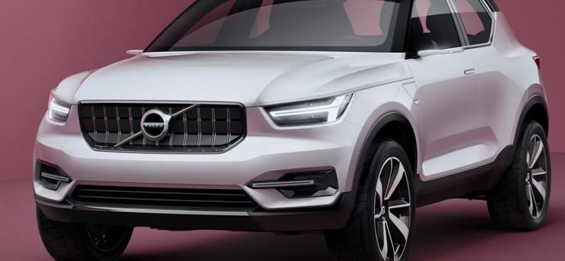 Jön az apró Volvo XC20, retteghet az Audi Q2?
