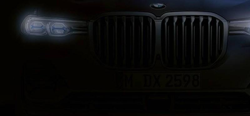 Hatalmas és tekintélyt parancsoló lett a BMW X7