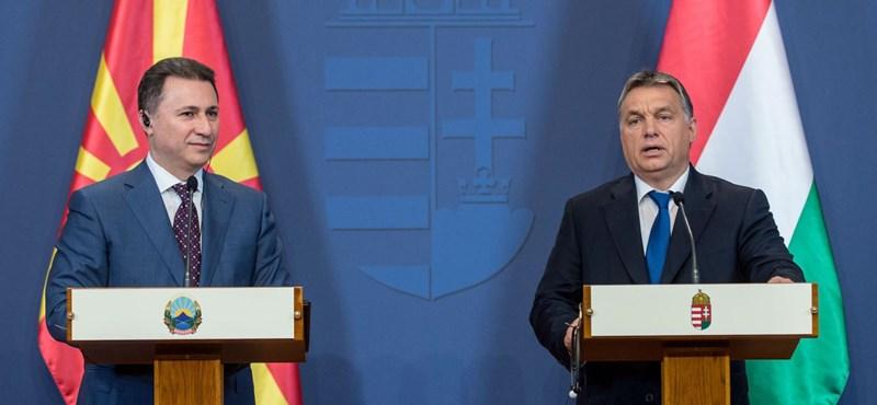 Orbán megígérte, hogy megmenti Gruevszkit, és ezzel ki is végezte