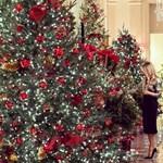 Így néz ki Trumpék utolsó karácsonya a Fehér Házban