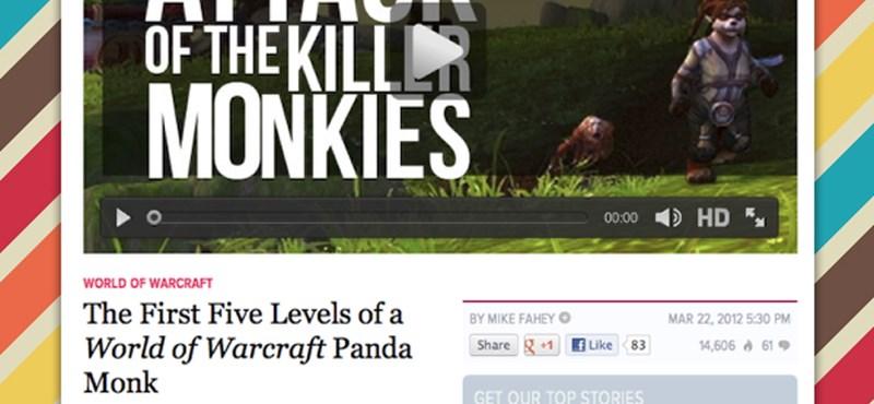 14 perc World Of Warcraft Mists of Pandaria: az első küldetések [videó]
