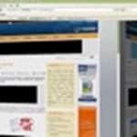 Weboldalak közötti váltás 3D hatással