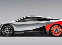 Szárnyasajtós, arcfelismeréses hibrid sportkocsit mutatott be a BMW