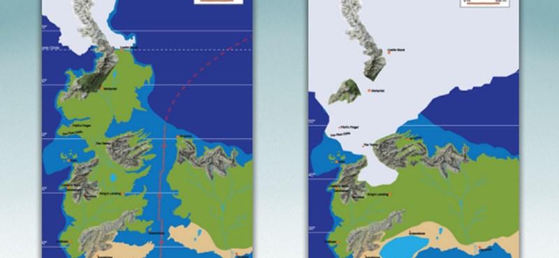 Ezt látni kell: itt a Trónok harcának geológiai térképe