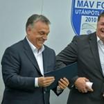 A Simicska-birodalmat átvevő Nyerges Zsolt a G-nap után kedélyesen kvaterkázott Orbánnal