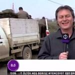 Beleröhögött a halálos balesetről szóló hírbe az M1 tudósítója