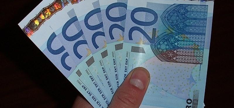 280 felett az euró, 230 felett a frank