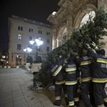 Hány tűzoltó kell a faállításhoz? Kiderült az Operánál - fotó