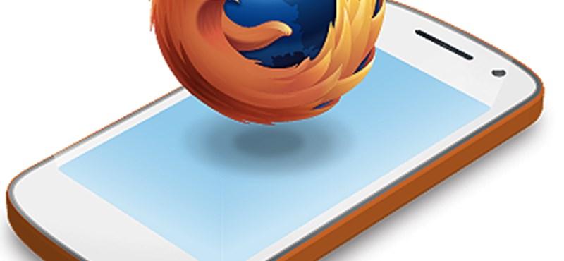 Nemet mond a Samsung a Firefoxra