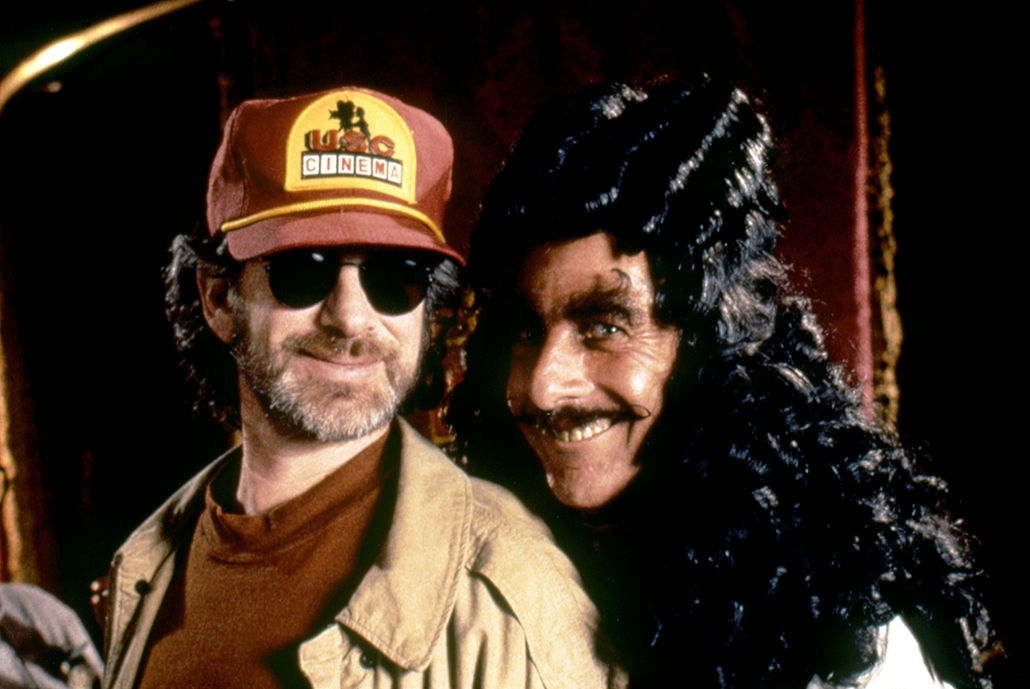 AFP - 1991-  Hook - Steven Spielberg és Dustin Hoffman