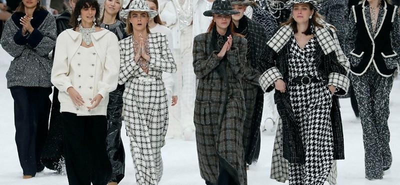 A Chanel bemutatta a februárban elhunyt Karl Lagerfeld utolsó kollekcióját
