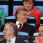 Orbán Gáspárt is lefotózták a BL-döntő díszpáholyában