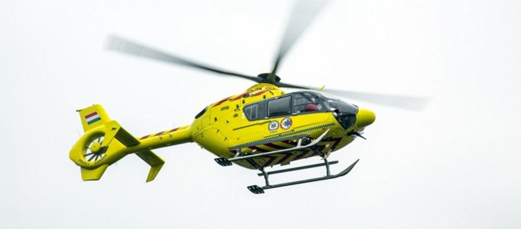 Használt helikoptereket vett mentési feladatokra a rendőrség