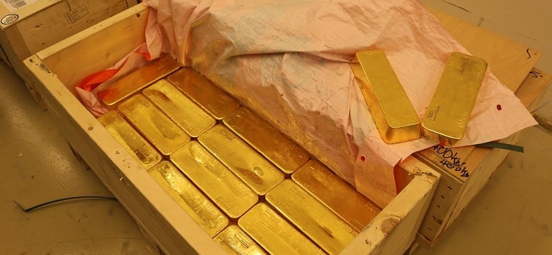 A jegybank titokzatos aranyvásárlása