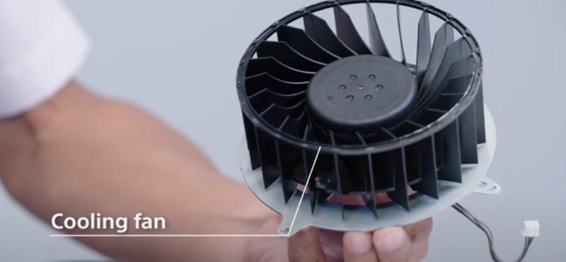 A játékok alapján lövi be a Sony, milyen gyorsan pörögjön a PlayStation 5 ventilátora