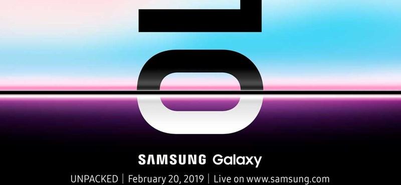 Itt az első hivatalos videó a Samsung Galaxy S10-ről