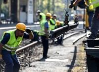 Hétmilliárddal drágult a Budapest-Hatvan vasútvonal felújítása