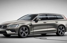 Olcsóbb hibrid: új zöld rendszámos Volvo V60 érkezett