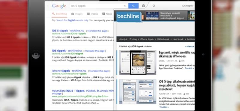 Megújult az iPades Google Search alkalmazás [videó]