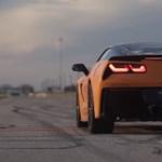 Ilyen hangja van egy 1000 lóerős Corvette-nek