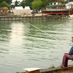 Az első nagy horgászverseny a Balaton körül