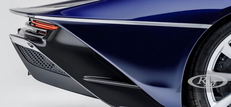 Új gazdára vár a szinte elérhetetlen McLaren Speedtail egyik példánya