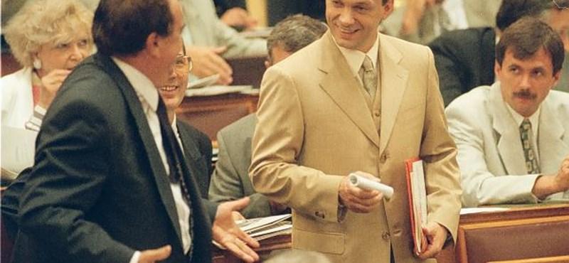 """""""Olyan, mint egy kis Napóleon"""" - emlékek kerültek elő Orbán Viktor 92-es amerikai útjáról"""